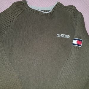 Tommy Red Label Denim sweater
